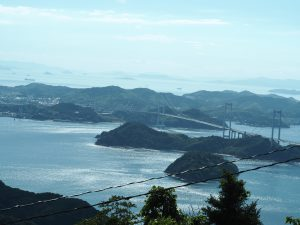 大島から見るしまなみ海道