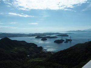 大島から見る瀬戸内