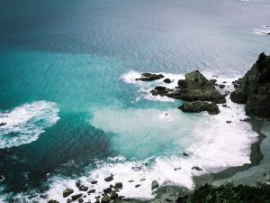 佐多岬の海
