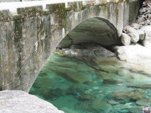 面河峡の橋